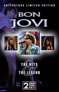 Cover Bon Jovi - The Hits & The Legend [DVD]